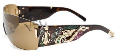 CHRISTIAN AUDIGIER 405 color TORTOISE Sunglasses Christian Audigier. $240.00