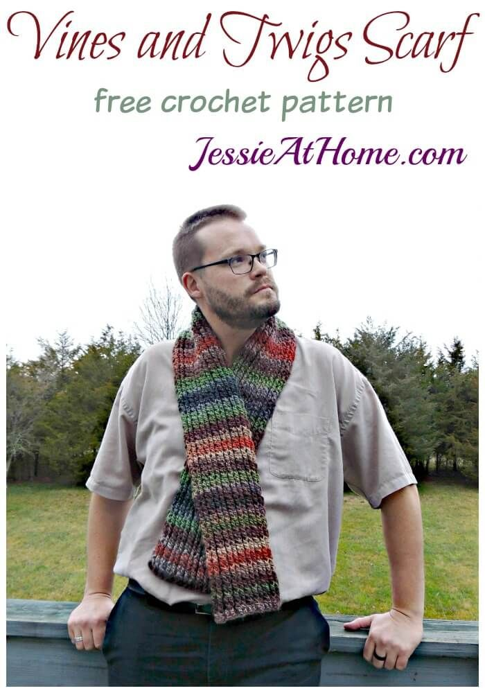 Vines and Twigs Scarf | Blogger Crochet Patterns We Love | Pinterest ...