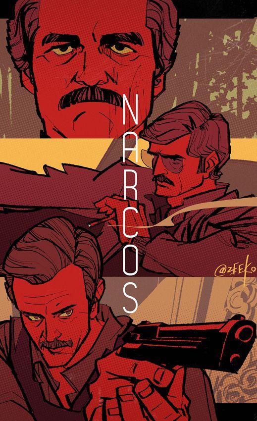 Narcos By Zeekoleedeviantartcom On At Deviantart Narcos In