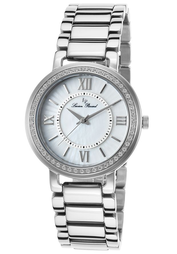 Lucien Piccard Alice Stainless Steel White Mother of Pearl DialLucien Piccard 11902-22MOP Watch