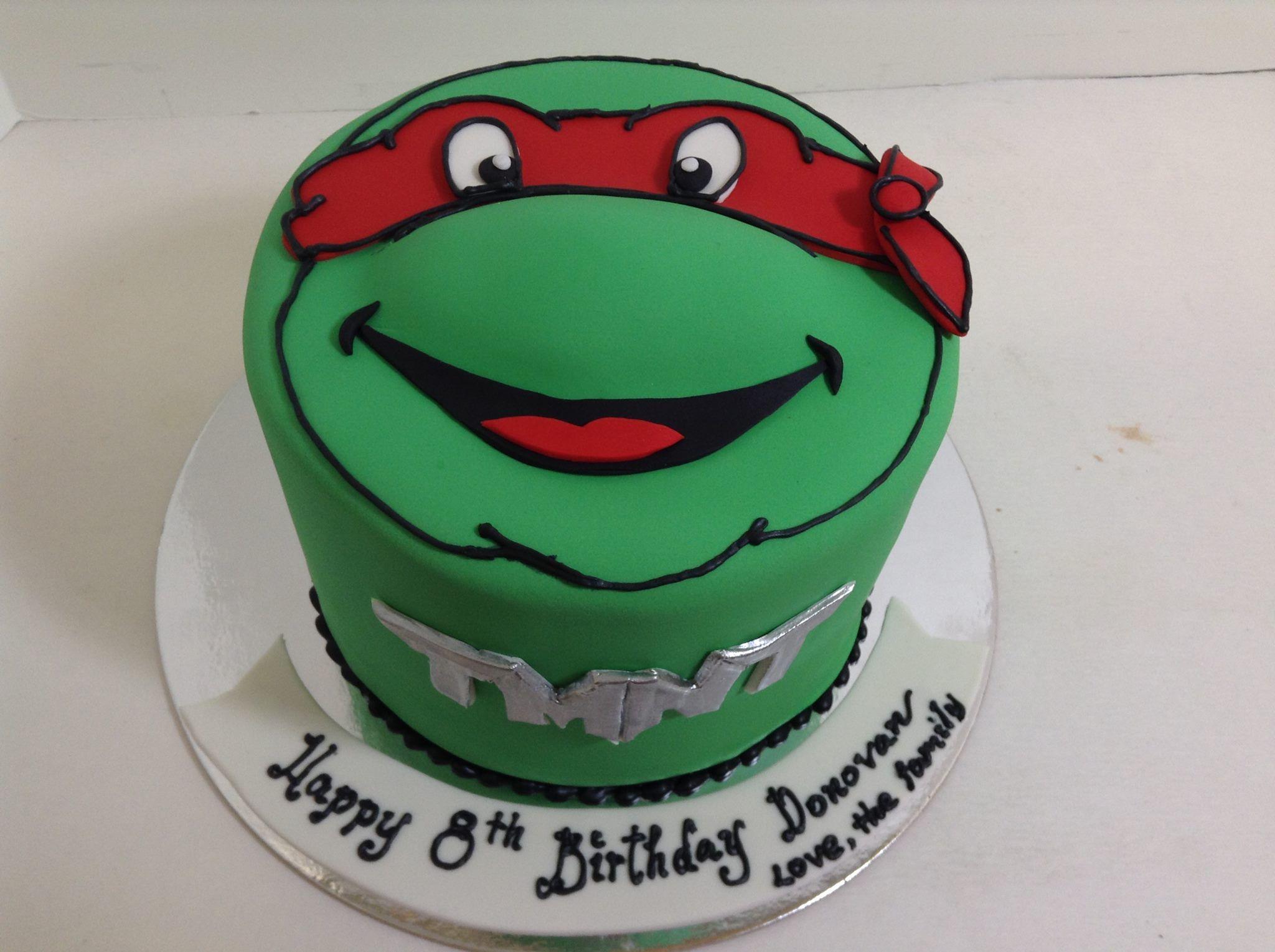 Teenage Mutant Ninja Turtle Raphael cake Sugarnomics Cake Studio