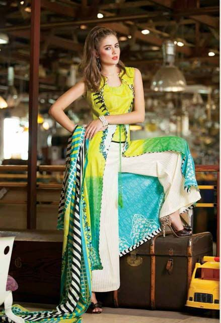 Shariq Textiles is one of the famous and leading fashion brand of Pakistan. Shariq Textiles was established in year 2009 and since then they have launched so many collection for every type of age of