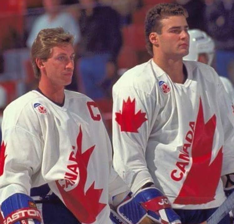 new style 1c2bd fc6bc 91 Canada Cup | Gretzky | Lindros | Hockey | Eric lindros ...