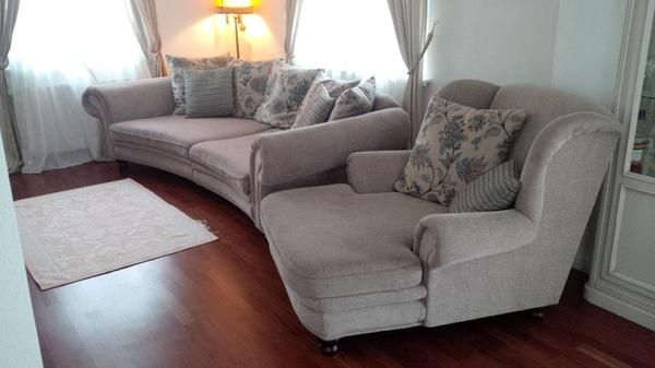Sofa megasofa mit polster sessel couch aus murrhardt bydlen pinterest townhouse and Sofa polster erneuern
