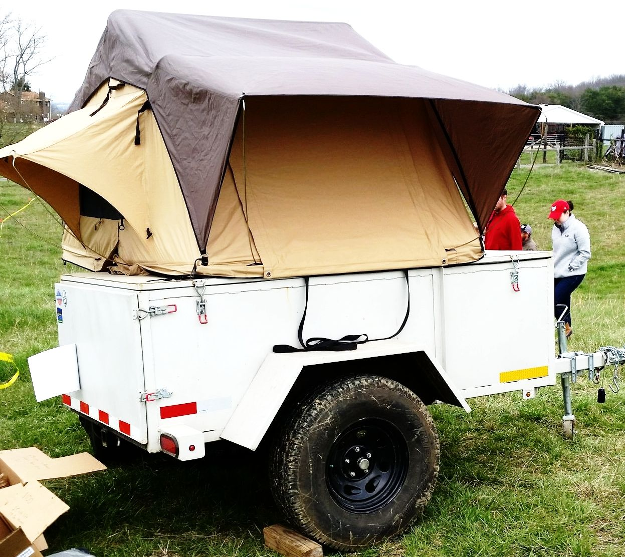 Home Built Expedition Trailer With Cvt Rtt For Sale