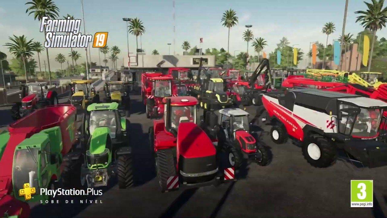 Jogos PlayStation Plus Maio 2020 Farming Simulator 19