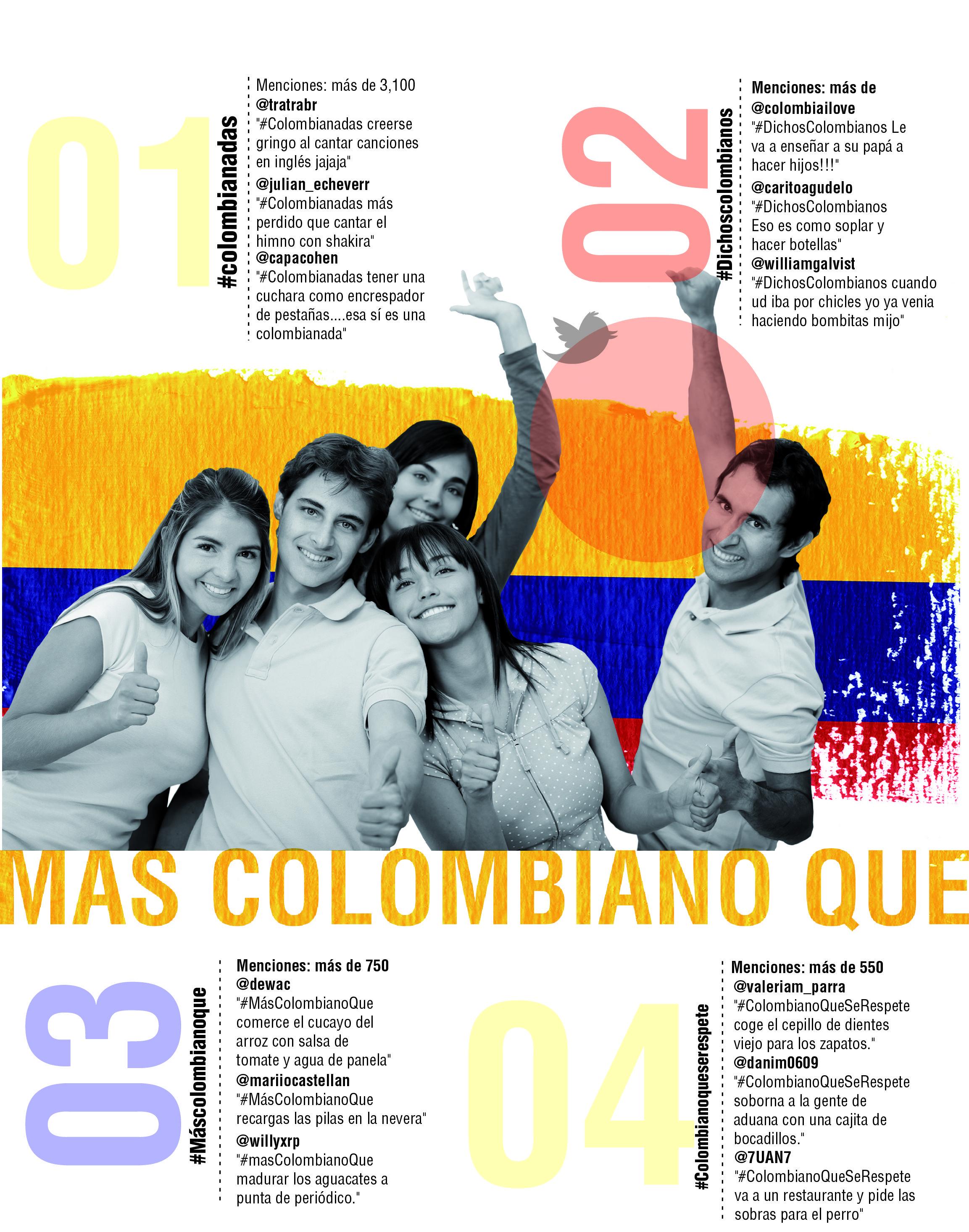 #MasColombianoQue