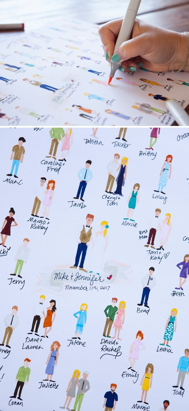 You HAVE To See This Free Printable Guest Book Idea Printing