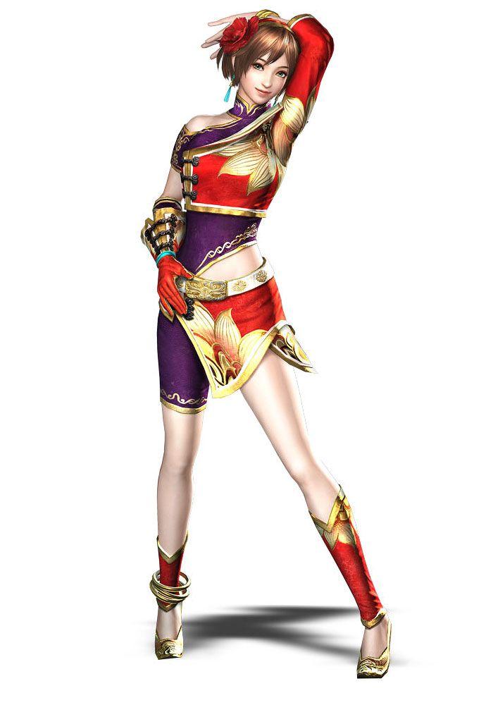 Dynasty warriors sun shang xiang