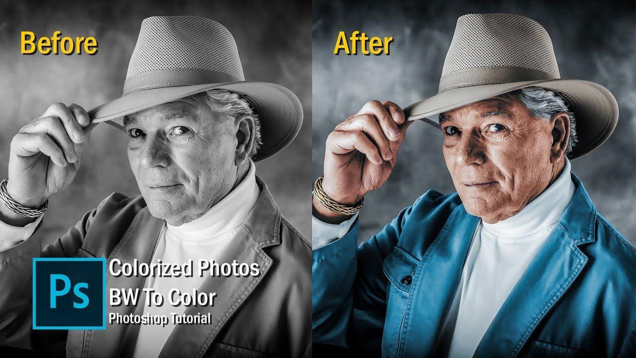 Cara Mewarnai Foto Hitam Putih menjadi Berwarna tutorial