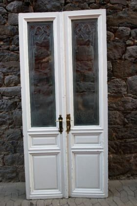 antike zimmert ren mit glas jugendstil wohnen. Black Bedroom Furniture Sets. Home Design Ideas