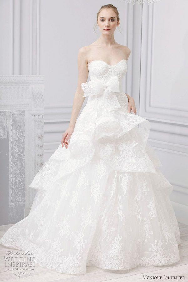 Monique Lhuillier Bridal Spring 2013 Wedding Dresses