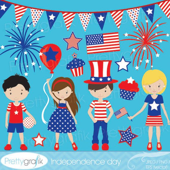Buy 20 Get 10 Off Independence Day Clipart Commercial Use Etsy Washi Fita Washi