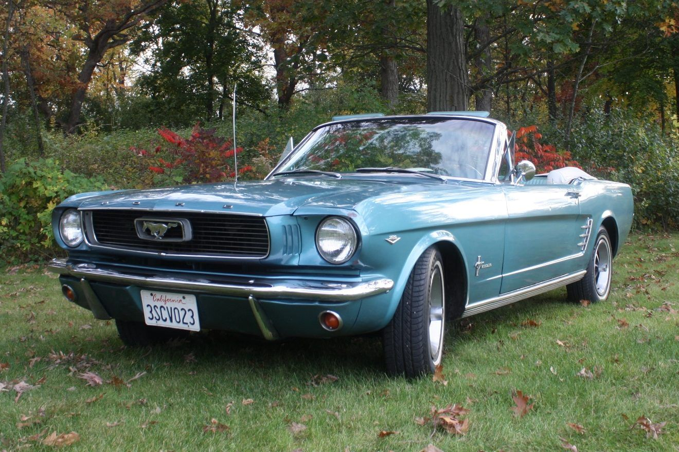1966 Ford Mustang Convertible 289 4 Speed 1966 Ford Mustang Ford Mustang Convertible Ford Mustang