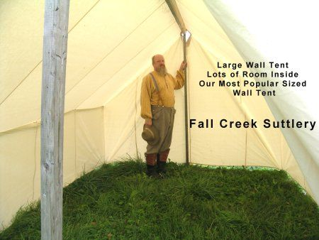 I Will Have Me A Wall Tent At Some Point Lol Civil War Like. View Larger & Wall Tent Plans | Amazing House Plans