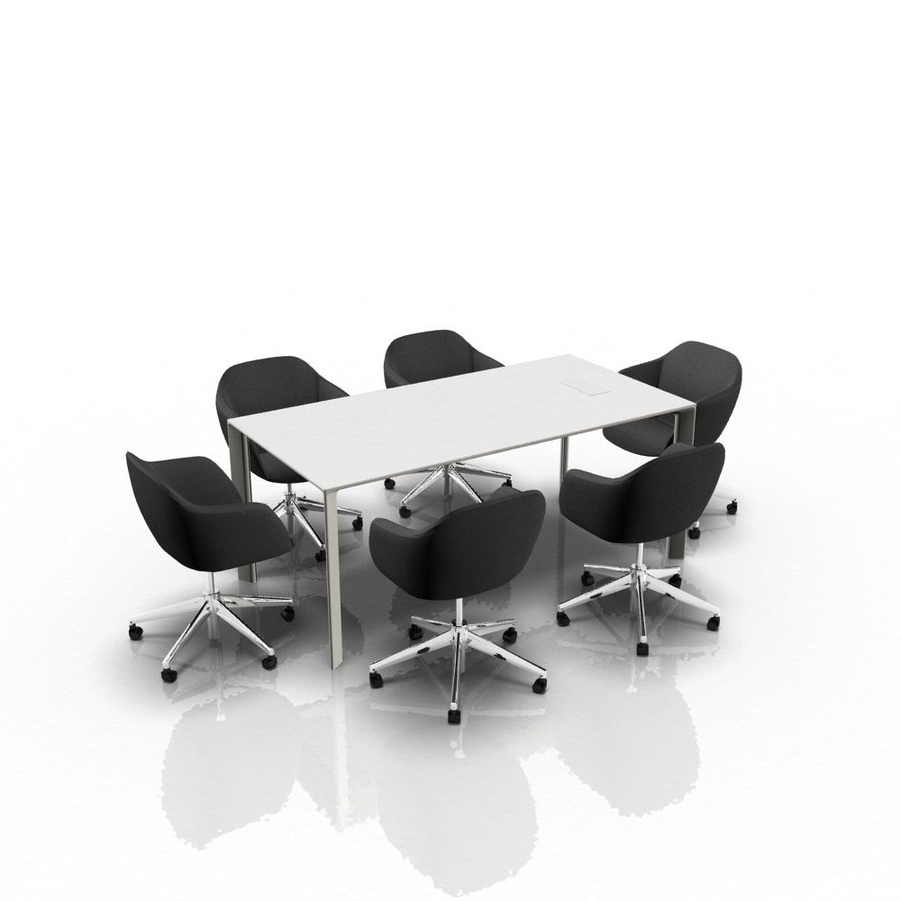 Noj Is An Executive Desk Or Boardroom Table With A Modern And Innovative  Design Made Of