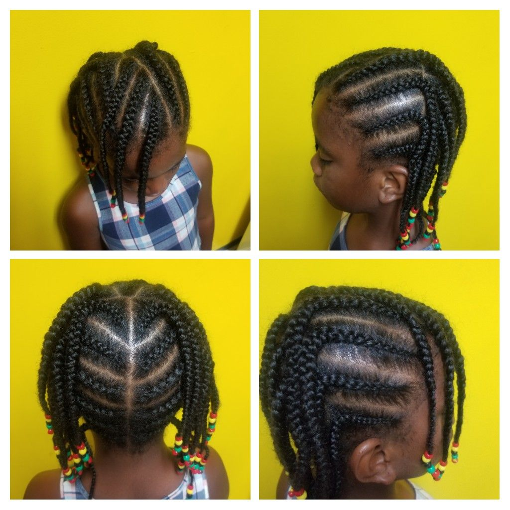 Quick Cornrow Hairstyle Quick Natural Hair Styles Kids Hairstyles Natural Hair Styles