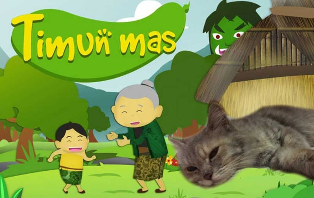 Timun Mas And Tomcil Children S Books Storytelling Cat