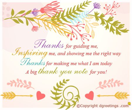 Beautiful Thank you note Thanks cards Pinterest Note - thank you note