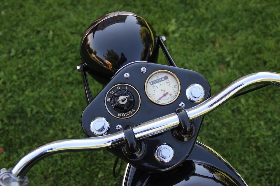 1953 Honda 145 5cc Dream 3e Frame No D53 14876 Engine No Ed53 13971 Honda Motorcycle Combination Honda S