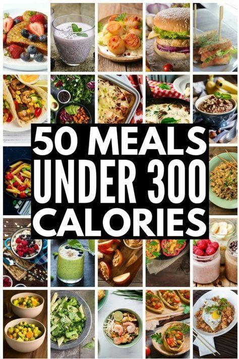 Abnehmen ohne zu verhungern mit dieser Sammlung von 50 Mahlzeiten unter 300 Kalorien ... #300workout