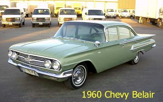 1960 Chevrolet Usa Bel Air 4 Door Sedan 2008 Chevy Silverado