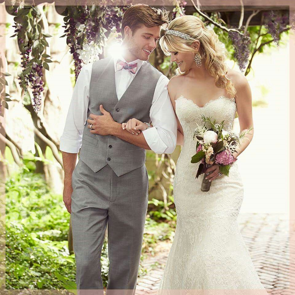 Wedding dress suit  Like the suit with no jacket and fun bow tie  Wedding  Pinterest