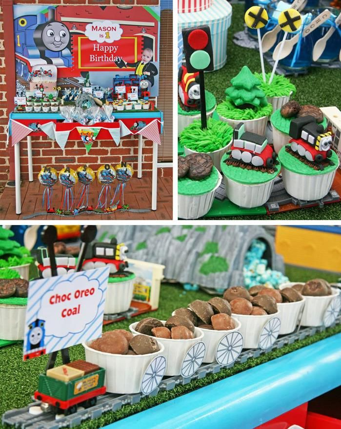 Thomas the train themed birthday Click the link and find more