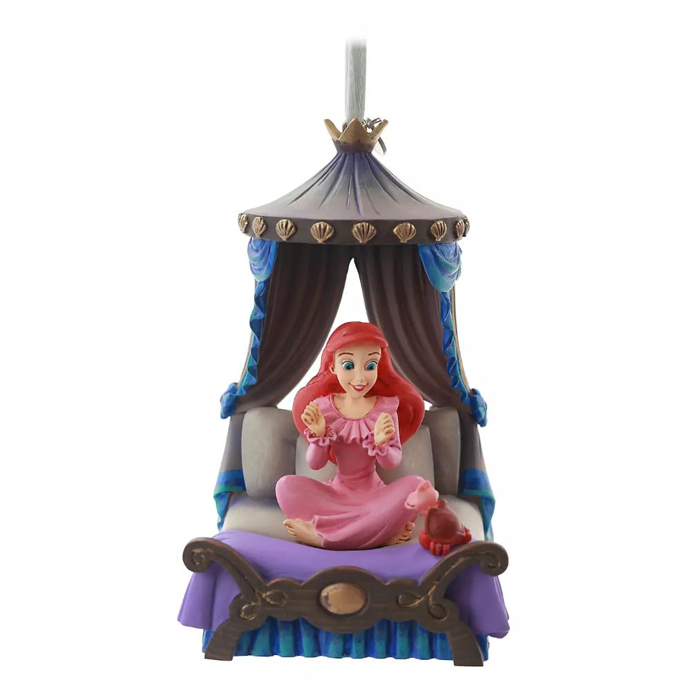 Little Mermaid Ornaments Christmas 2020 Ariel Fairytale Moments Sketchbook Ornament – The Little Mermaid