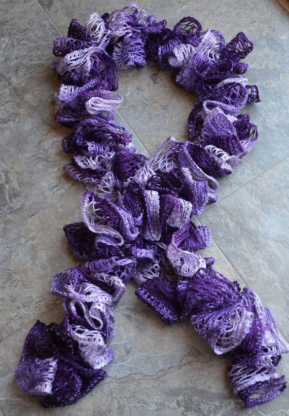 Knitting a Sashay Scarf!!! size 8 knitting needle 1 skein on shashay ...