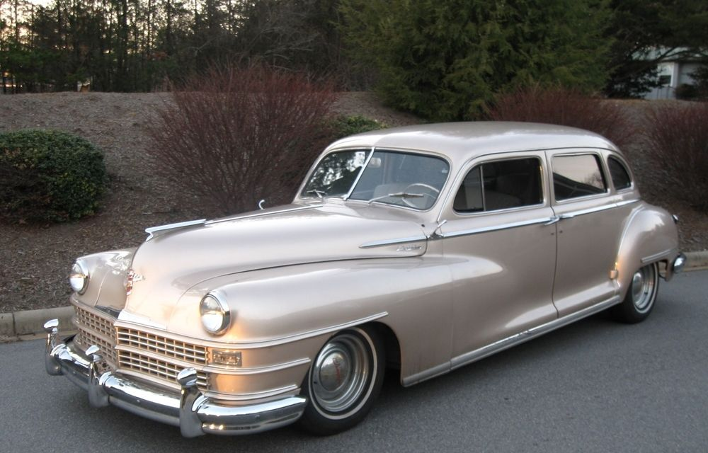 1948 Chrysler Limousine — Special Occasions Limousine | Cool Old ...