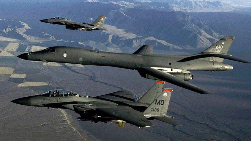 Aviones de EEUU bombardearon la península coreana