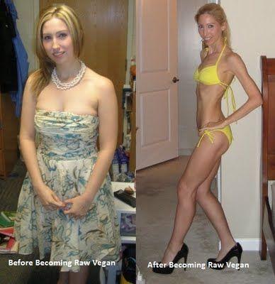 Веганы до и после фото