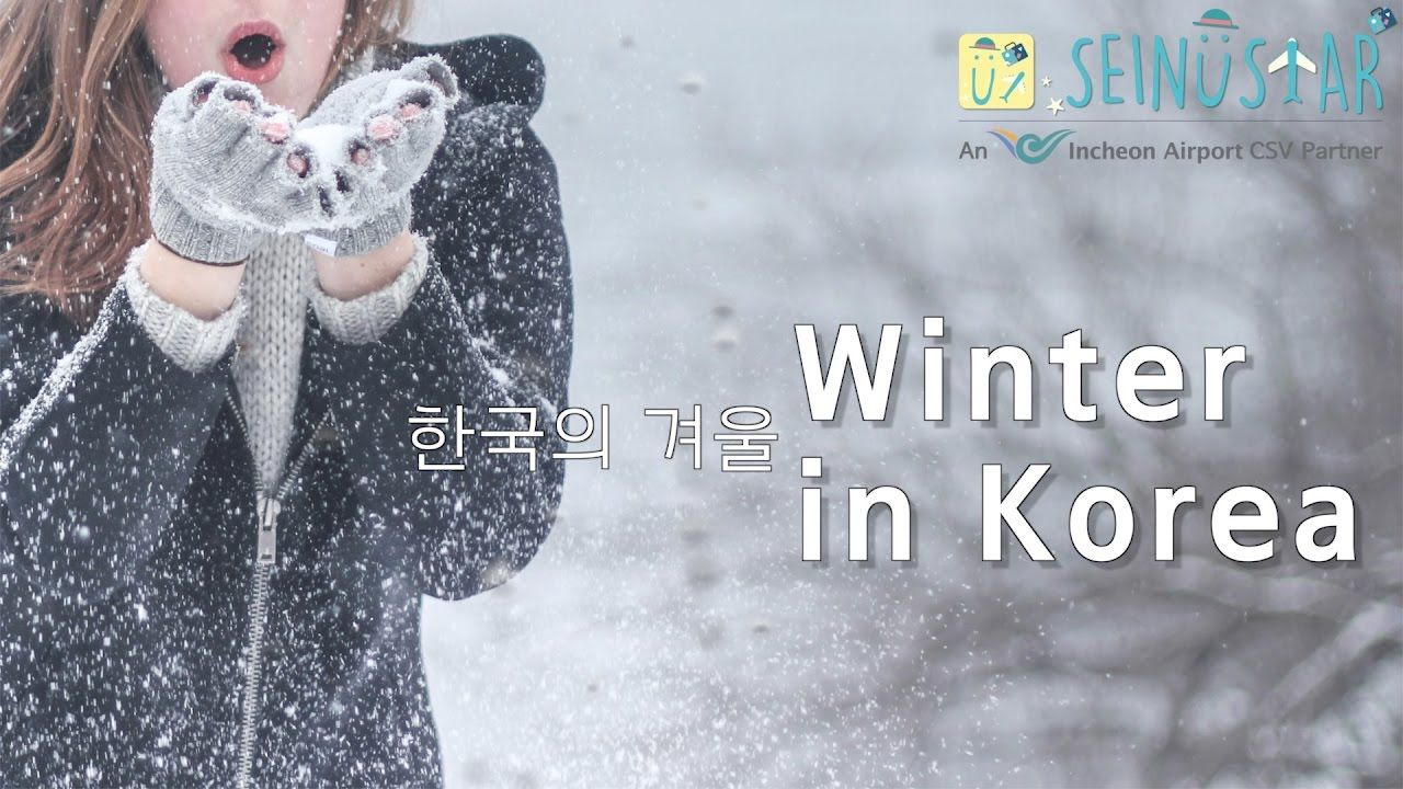 Winter in South Korea 2016 Vlog - Enjoy Travel, Korea Trip with Seinustar