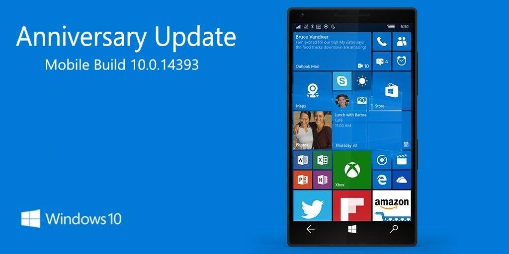 New in Windows 10 Mobile Build 10.0.14393 (10.0.14393.0)