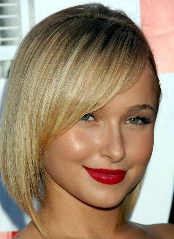 She Has Lovely Round Face Type And Eially Use Straight Bob Hairstyles Here You Are The Best Examples 15 Hayden Panettiere Haircuts