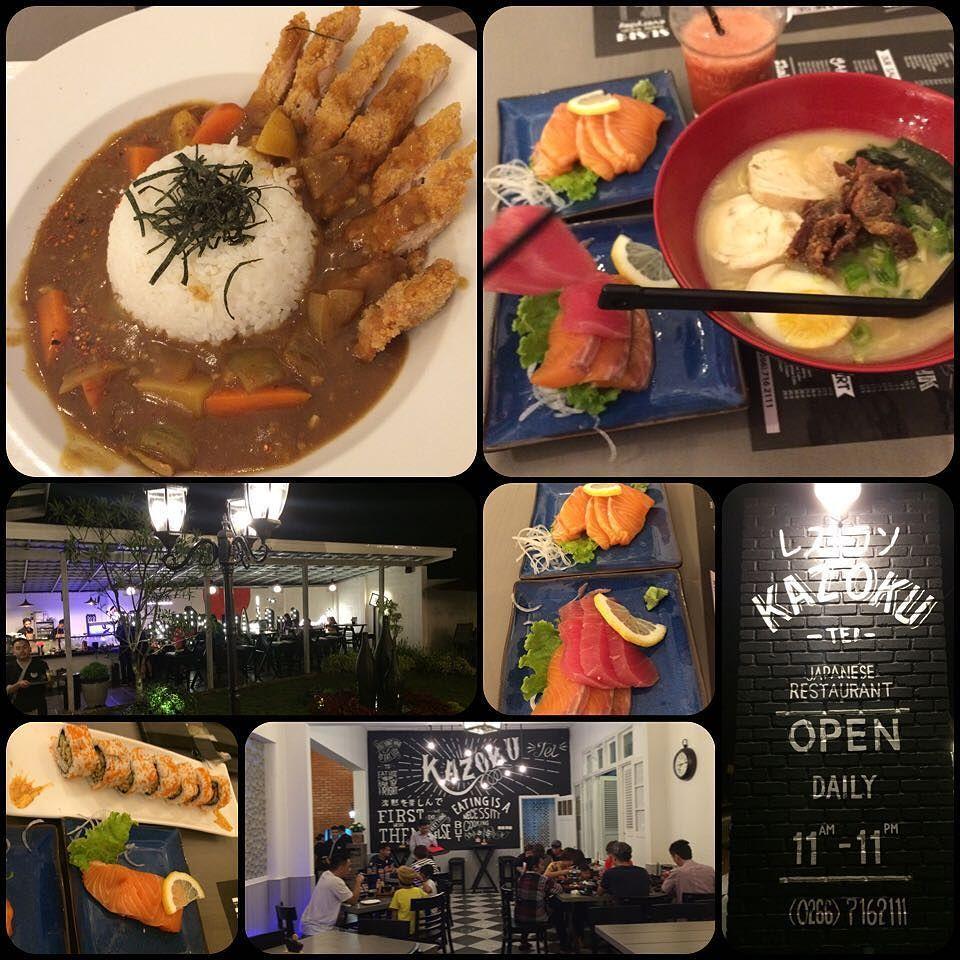 Marco Marcus On Instagram Never Thought Sukabumi Would Have A Halal Japanese Joint Like This Newly Opened Kazoku Tei It Serves Sashimi Halal Salmon Sashimi