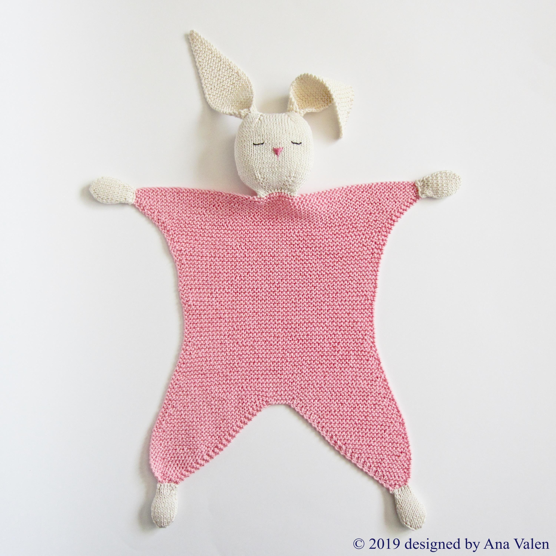 Bunny lovey Milly | Knitting patterns, Bunny lovey ...