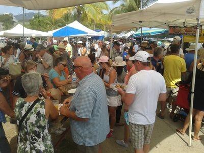 November 6 is Opening Day at La Cruz Market in La Cruz de Huanacaxtle, Mexico 10am - 2pm http://www.farmersmarketonline.com/fm/LaCruzMarket.html