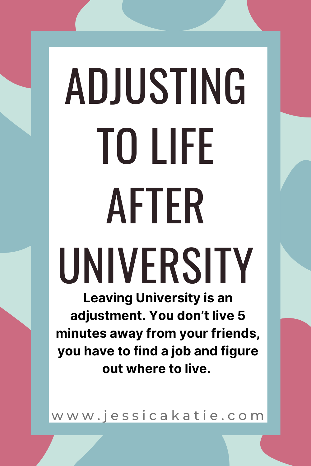 Adjusting to life after university in 2020 No experience