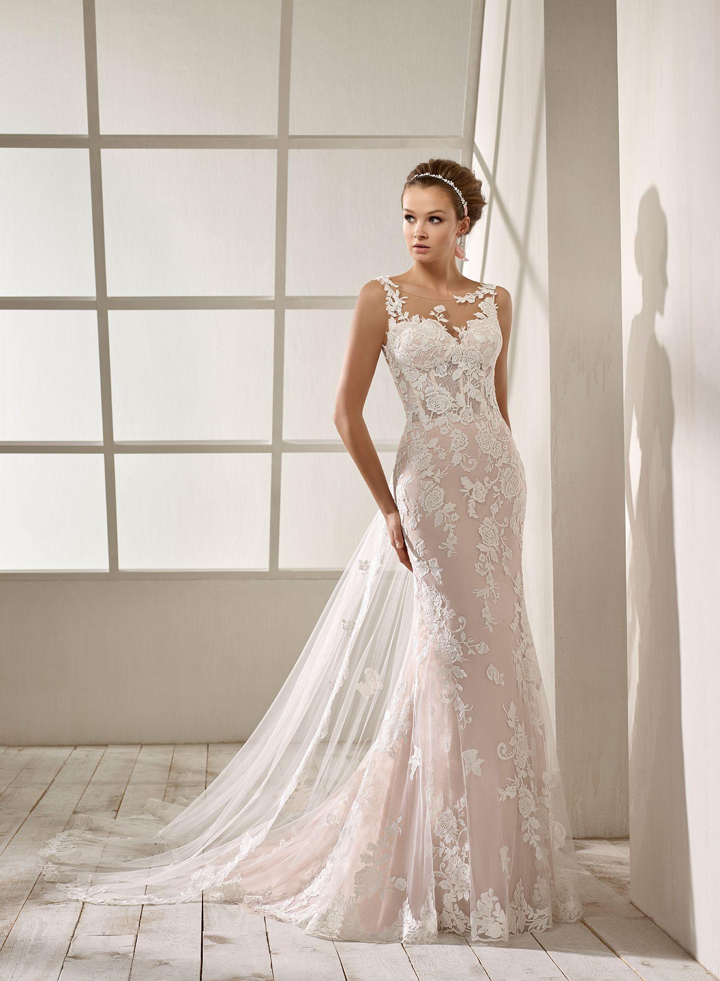 6764abf9 Vestido de Novia de Divina Sposa (DS 19209) #bodas #weddings #bodasnet  #bride #novia #bridelook #bridedress #vestidorosa #rosedress #vestitorosa  #roberose # ...
