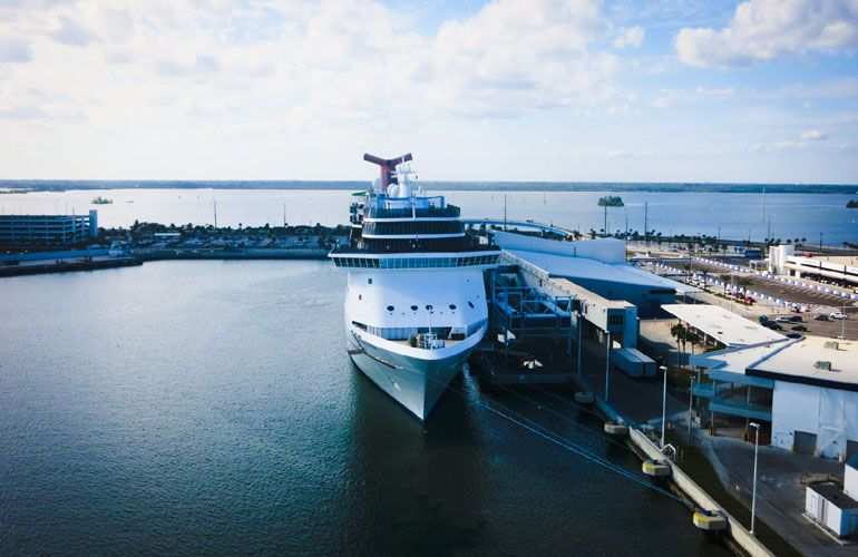 New Cruise Terminal For Port Canaveral Could Open In 2019 Port Canaveral Caribbean Travel Cruise Port