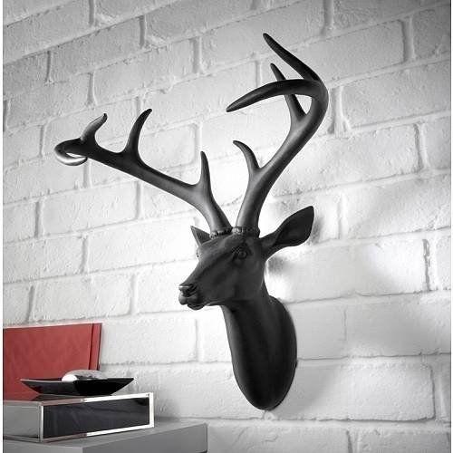 Deer Head Wall Art deer head wall art | deer, art and mobiles