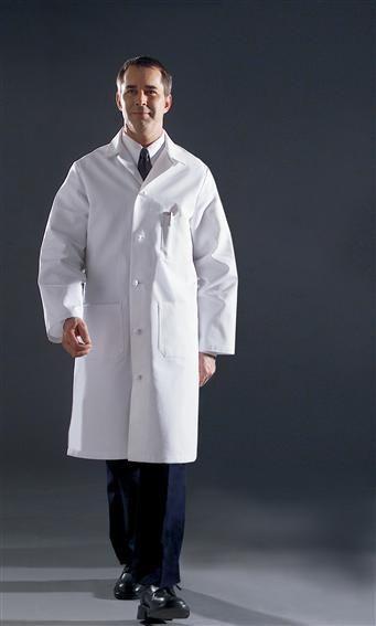 White Lab Coat For Men
