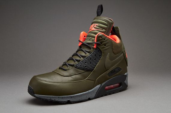 nike air max 90 leather dark & stormy