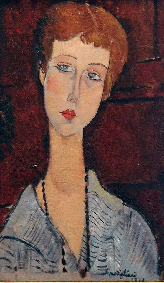 Épinglé sur Amedeo Modigliani (1884 - 1920)