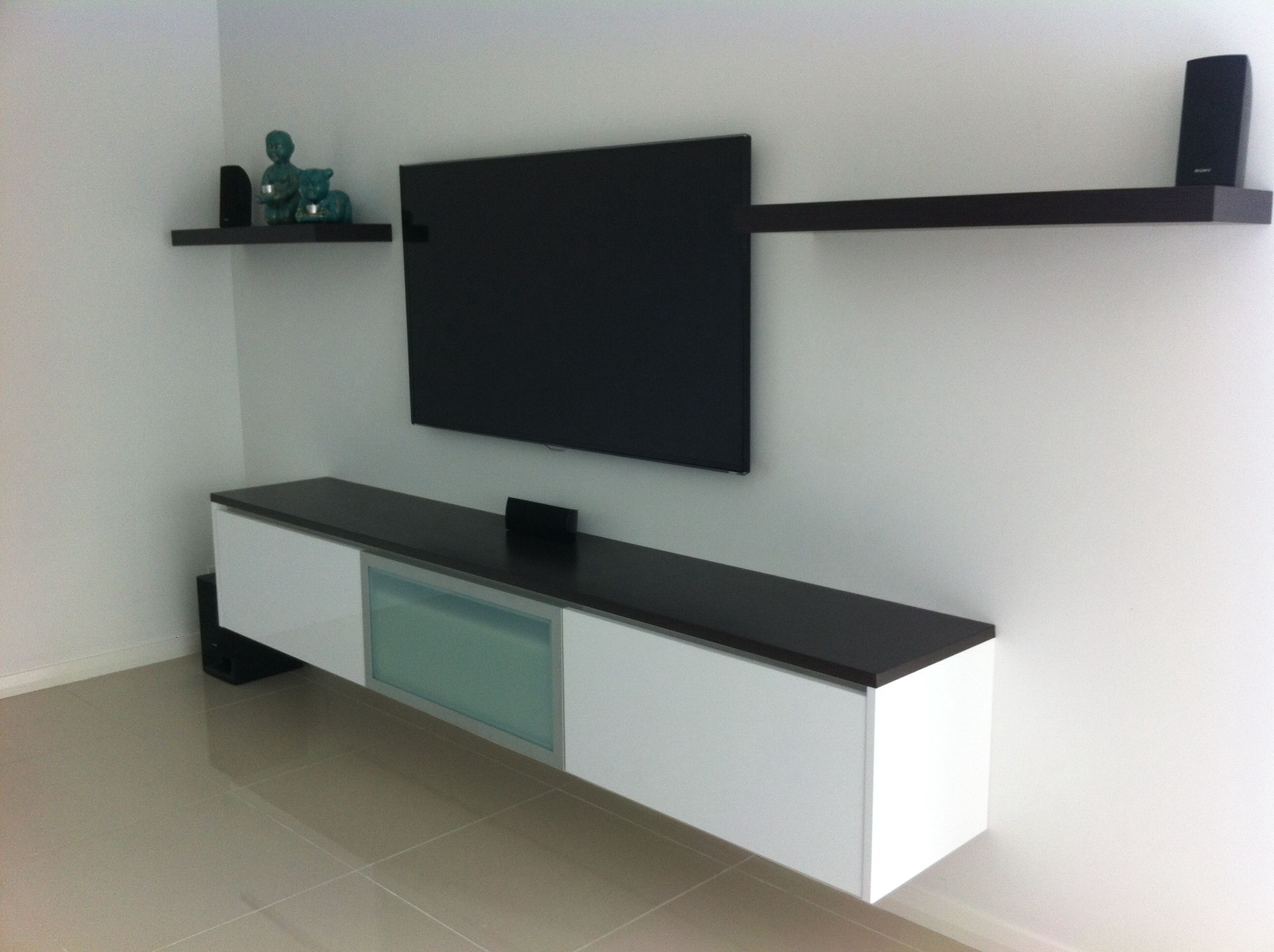 Design Floating Cabinets floating wall cabinet media theatre pinterest cabinet