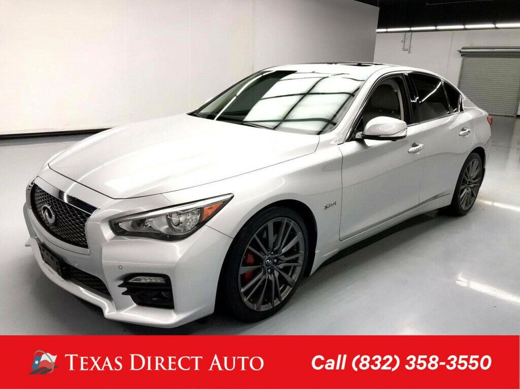 Used 2017 Infiniti Q50 Red Sport 400 Texas Direct Auto