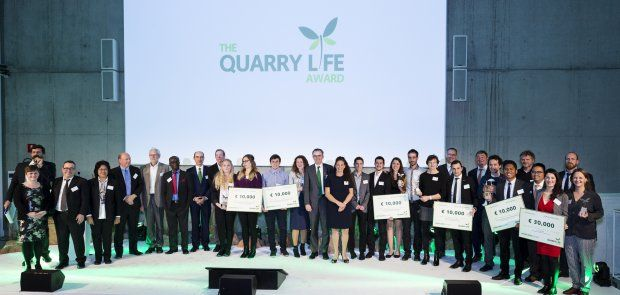 The Quarry Life Award 2016: HeidelbergCement honours international projects that promote biodiversity