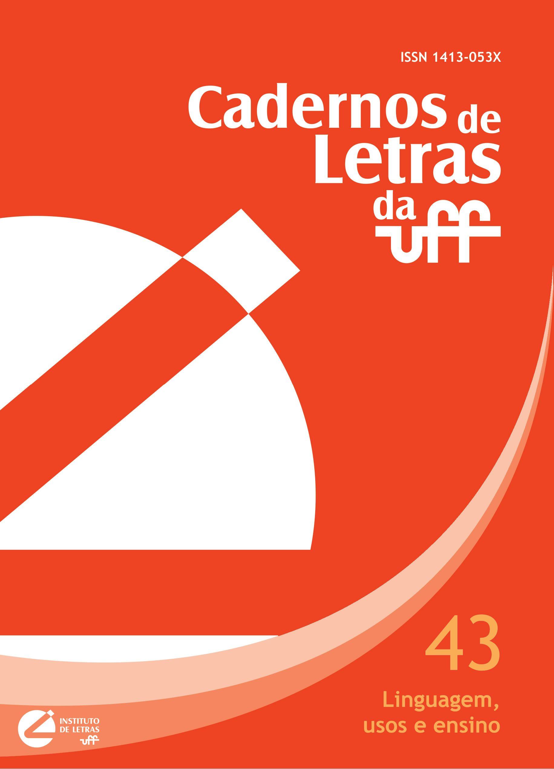 Teoria Cadernos De Letras Da Uff Letras Literatura E Linguagem